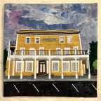 Quilted Iconic Buildings of Mendocino