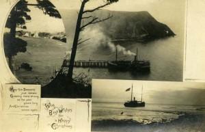 Pomo steam schooner